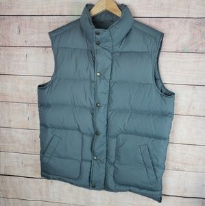 Land's End Down Fill Puffer Vest